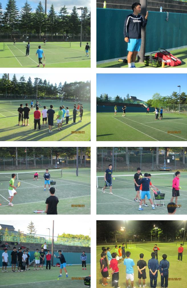 WILSONジュニア講習会&テニスクリニック