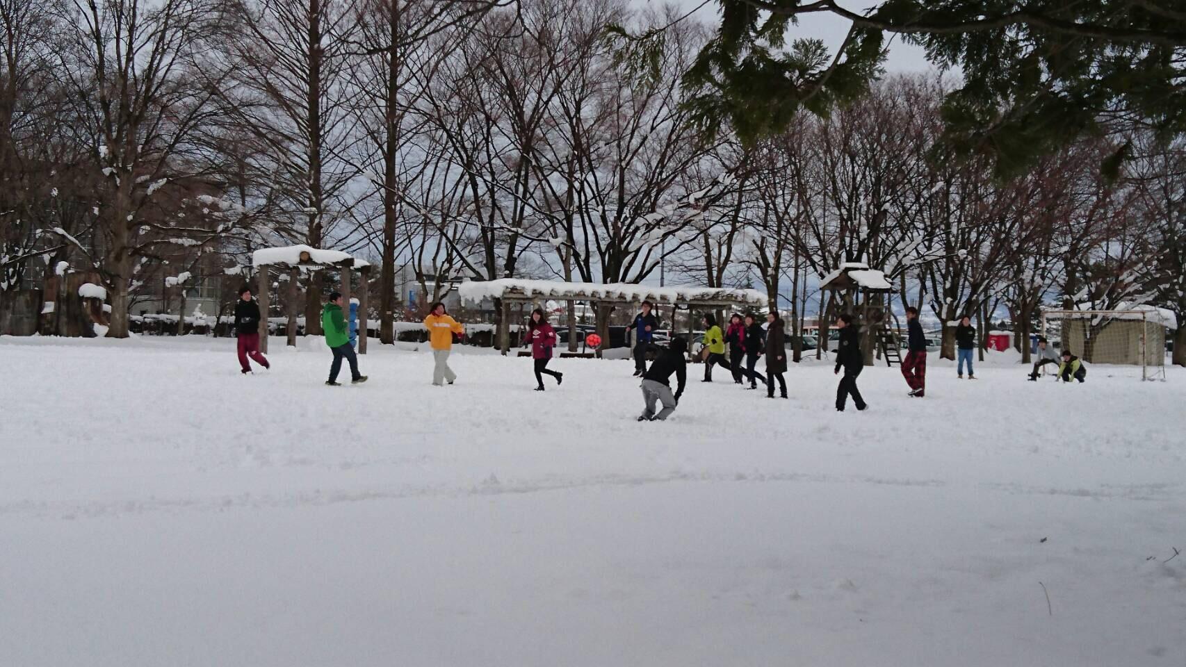 冬期間ミニサッカー場