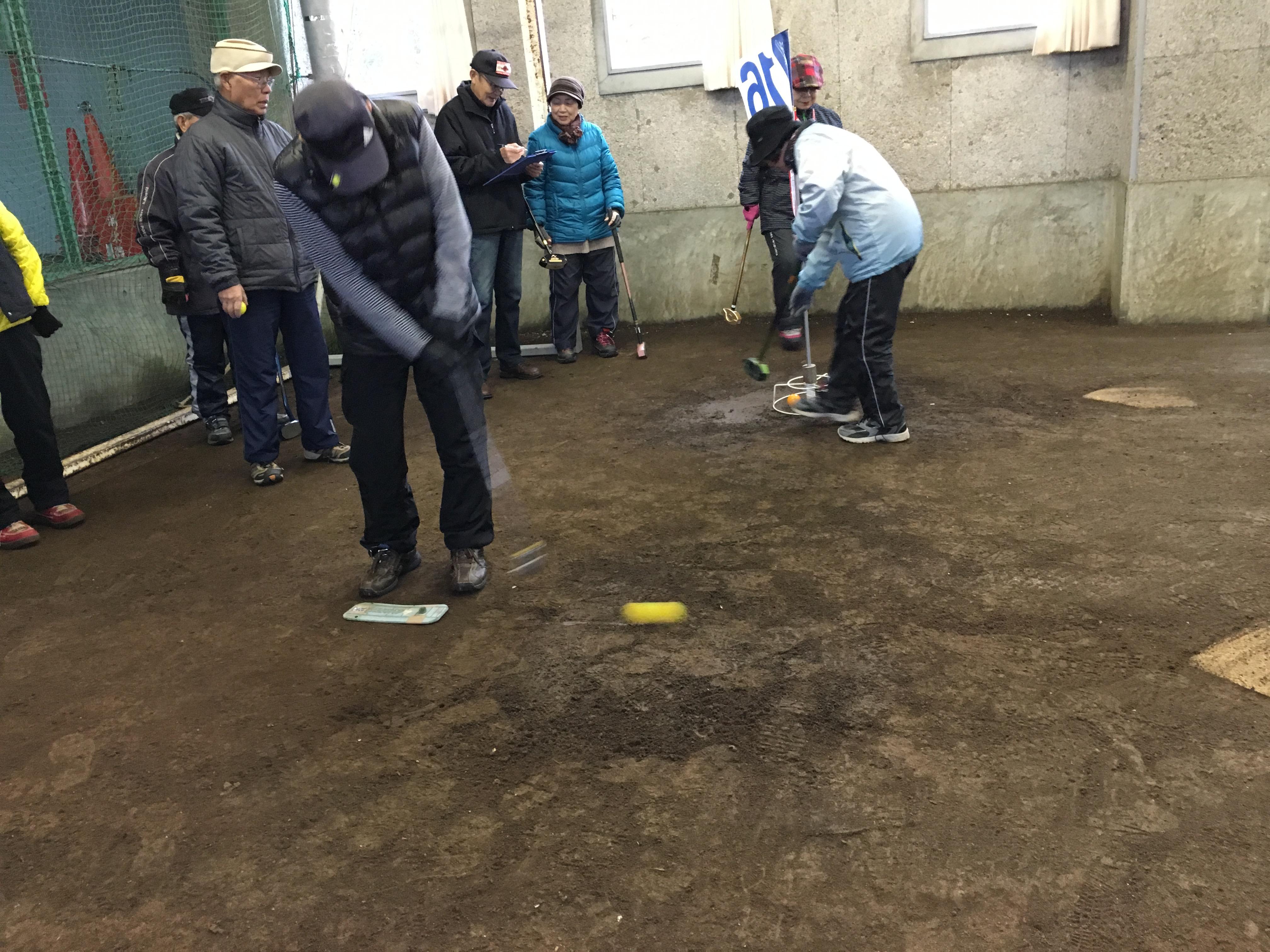 第2回克トレグラウンドゴルフ大会個人戦