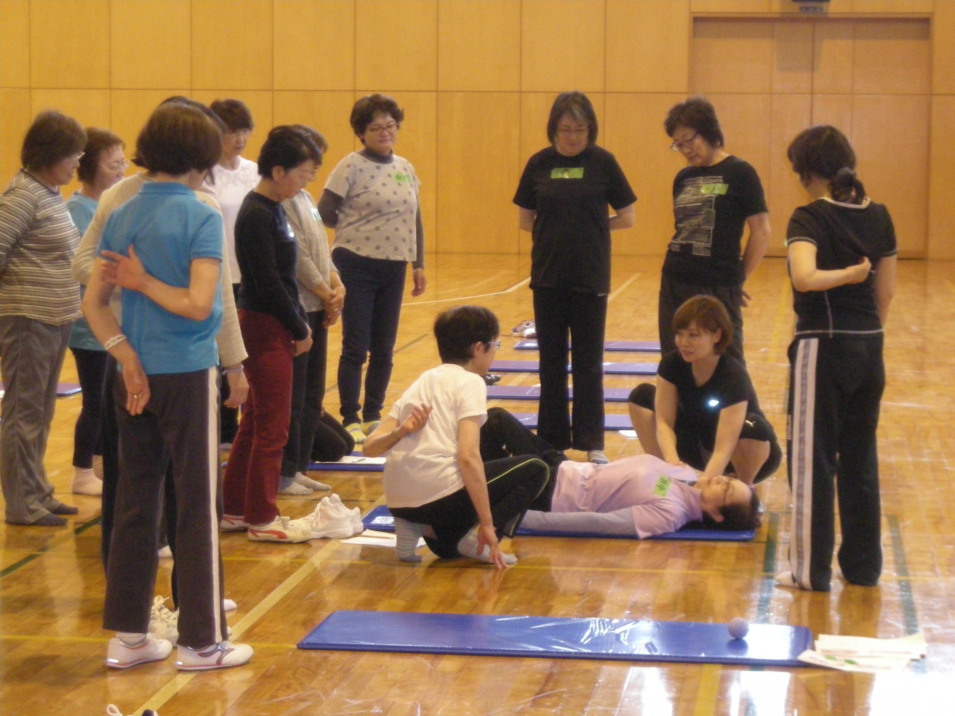 筋膜リリース教室