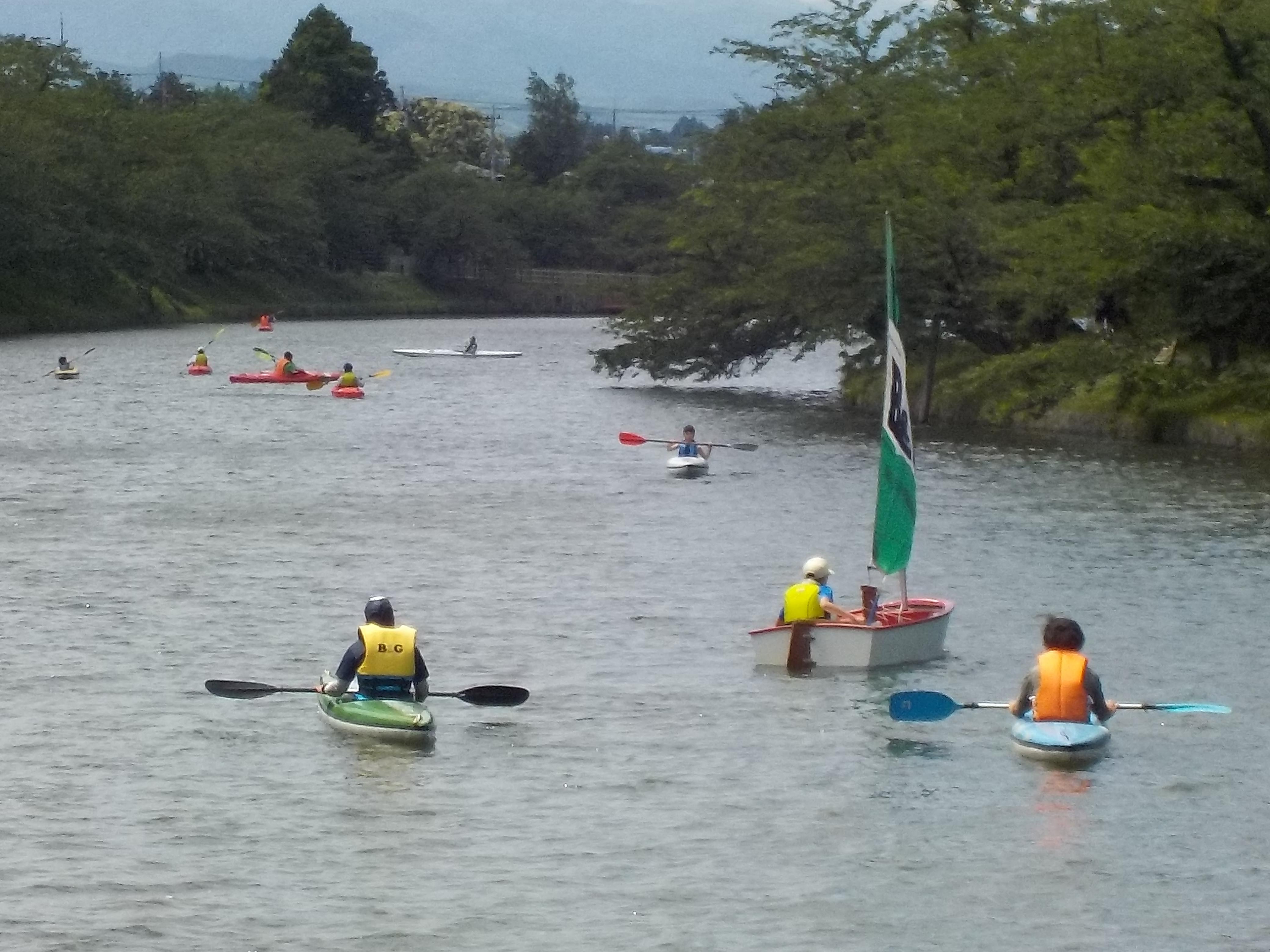 ヨット・カヌー教室