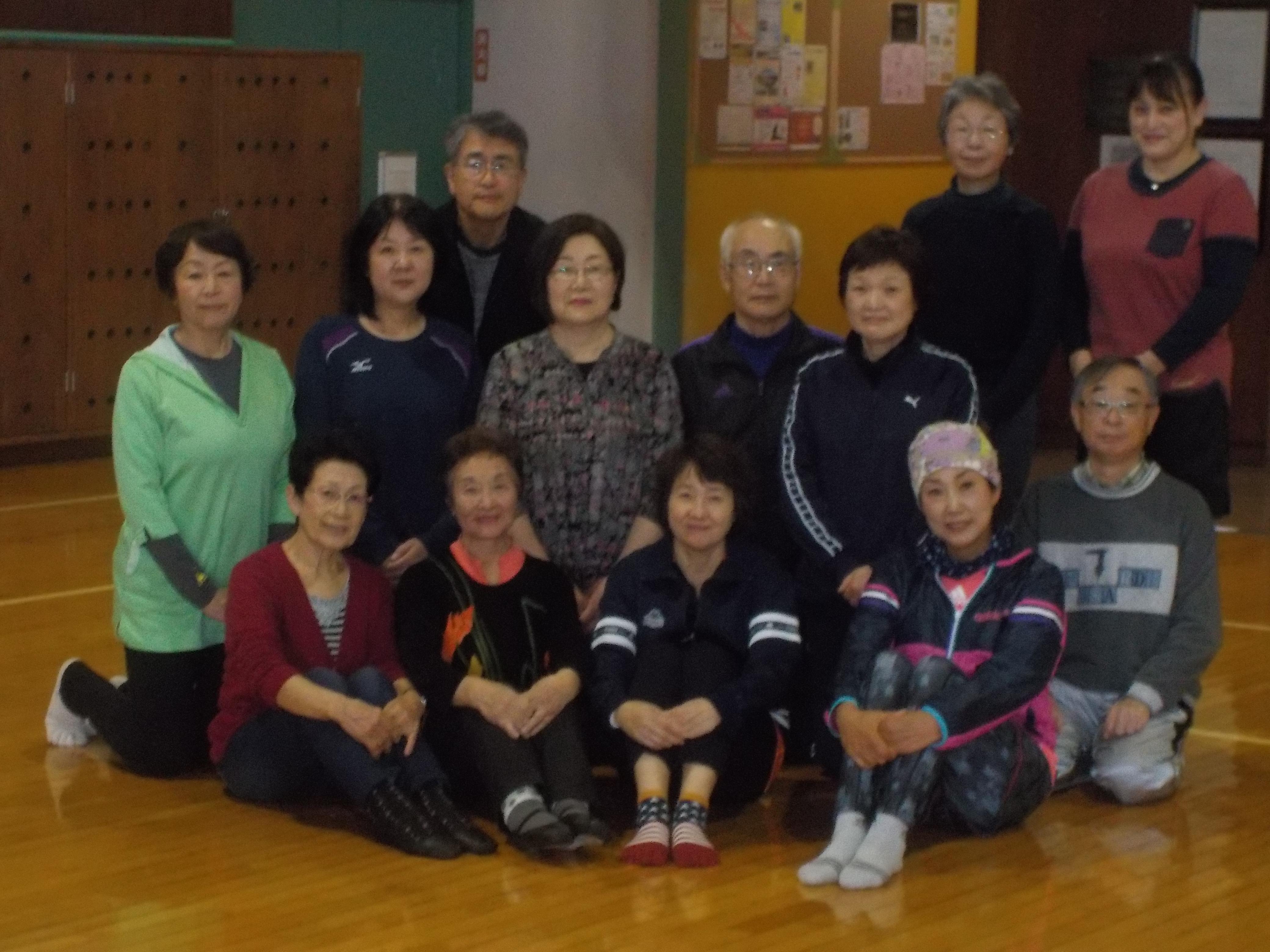 笑顔で脳トレ健康体操教室(前期)