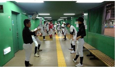 目指せ!甲子園 中3野球教室