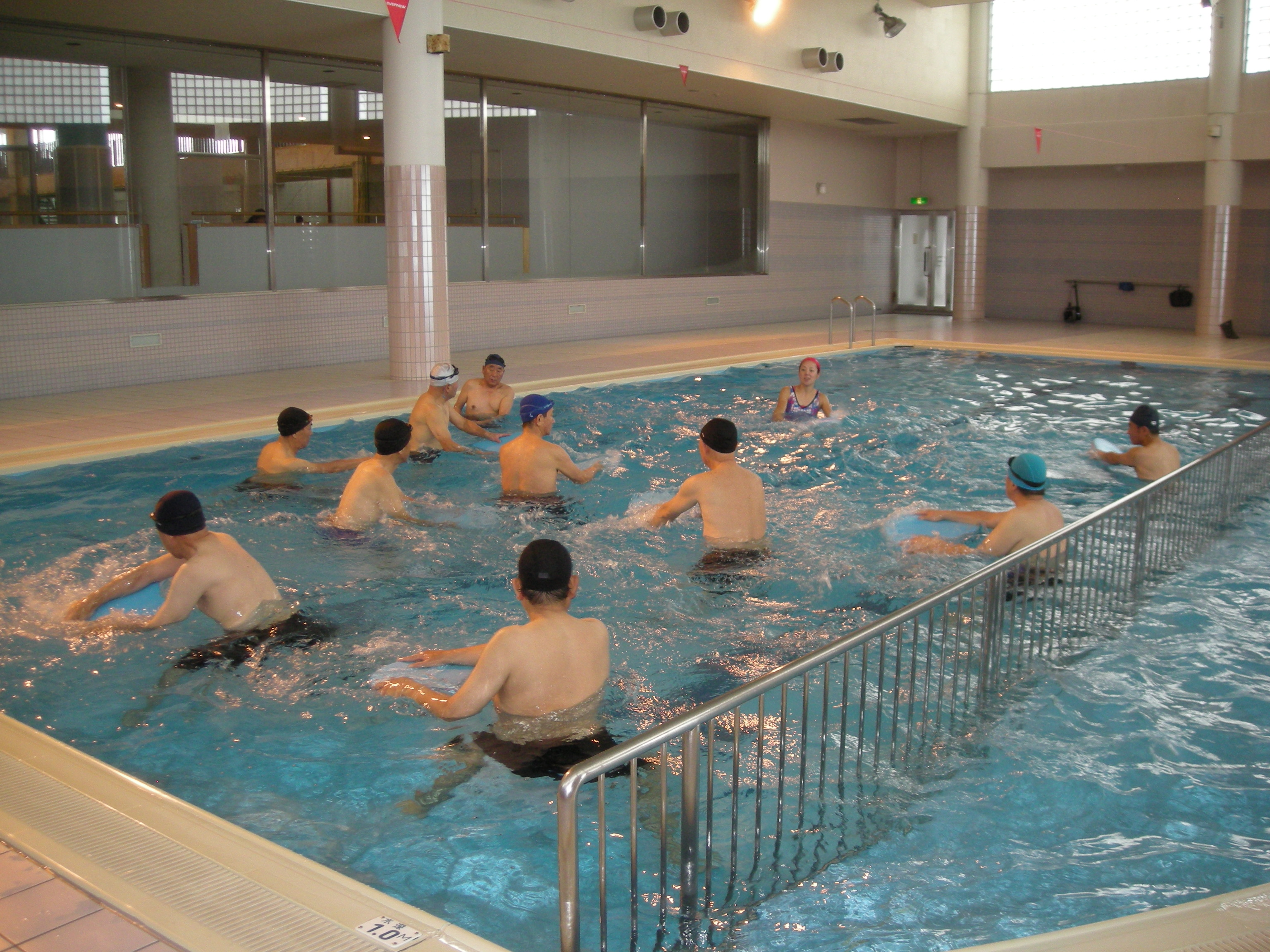 男性限定!メンズ水中ウォーキング教室