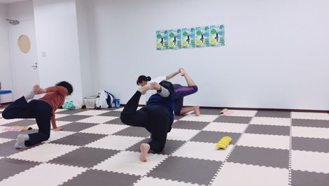 はるか夢球場ポジティブフィットネス教室Ⅱ