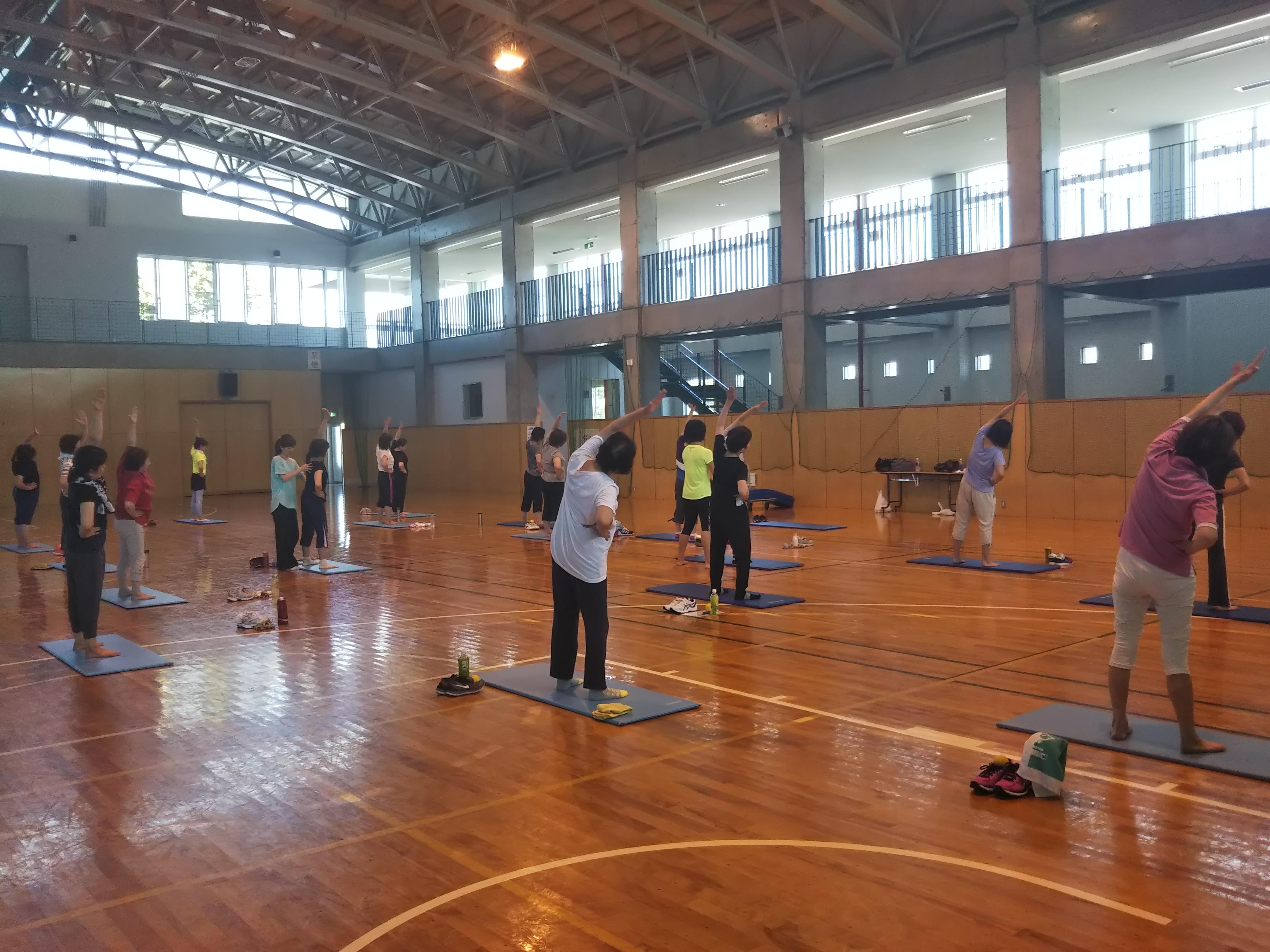 筋膜リリース×運動教室
