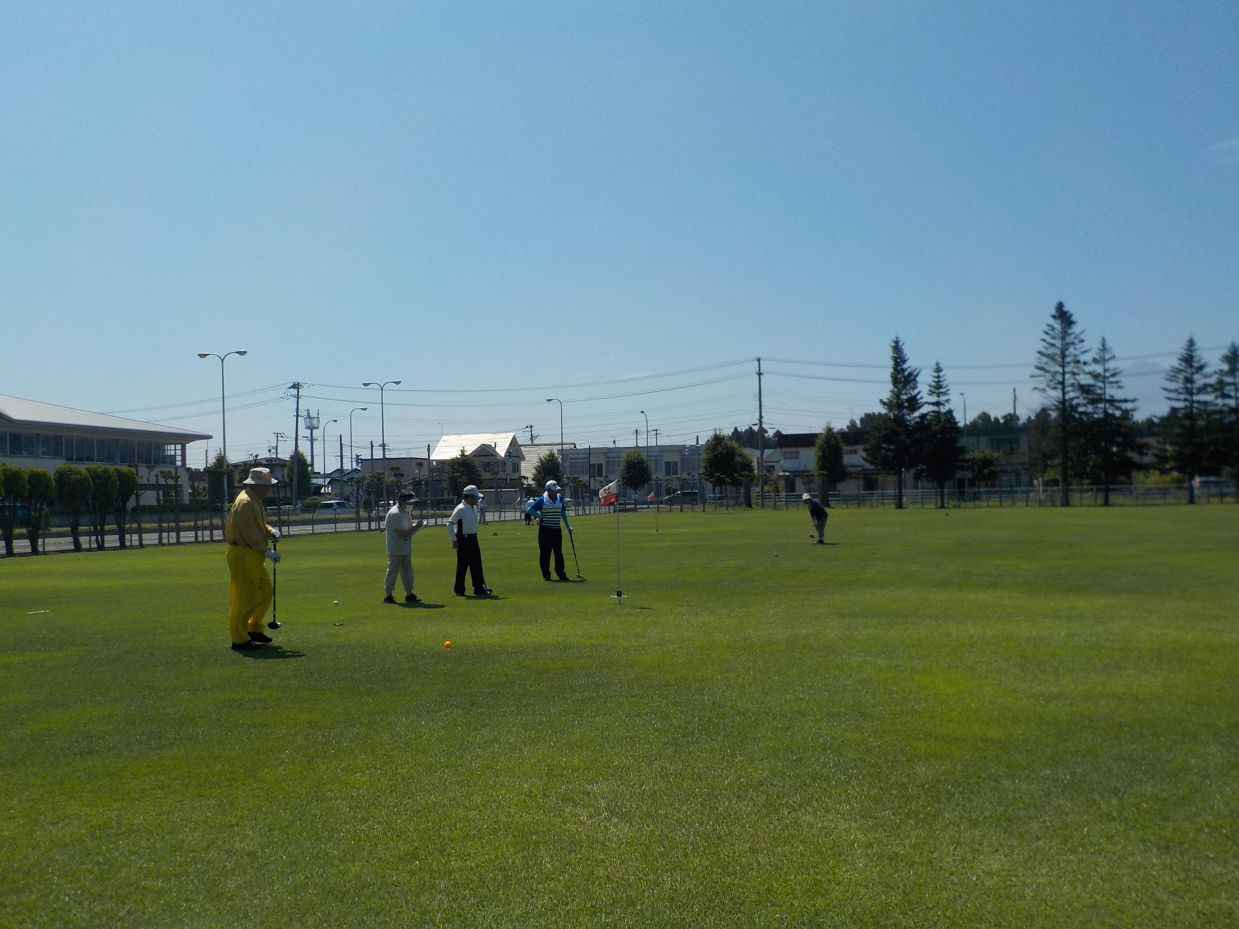 フライデーグラウンド・ゴルフ交流大会in弘前海洋