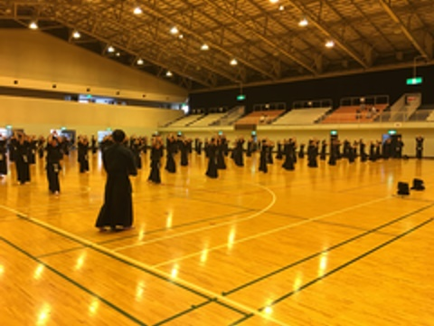 平成30年度剣道暑中稽古