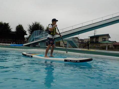 水上スポーツ&ウォーター遊具体験