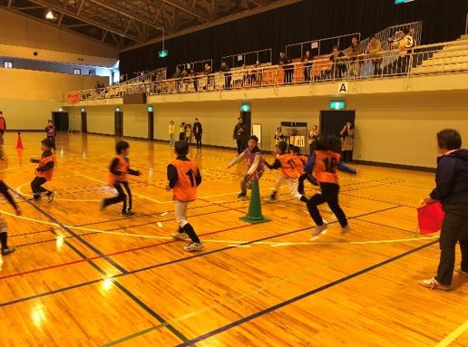 弘前市民体育館杯スポーツ鬼ごっこ大会交流大会