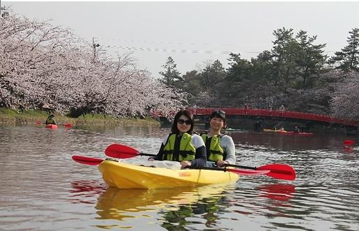 2019・弘前さくらまつりお花見カヌー体験