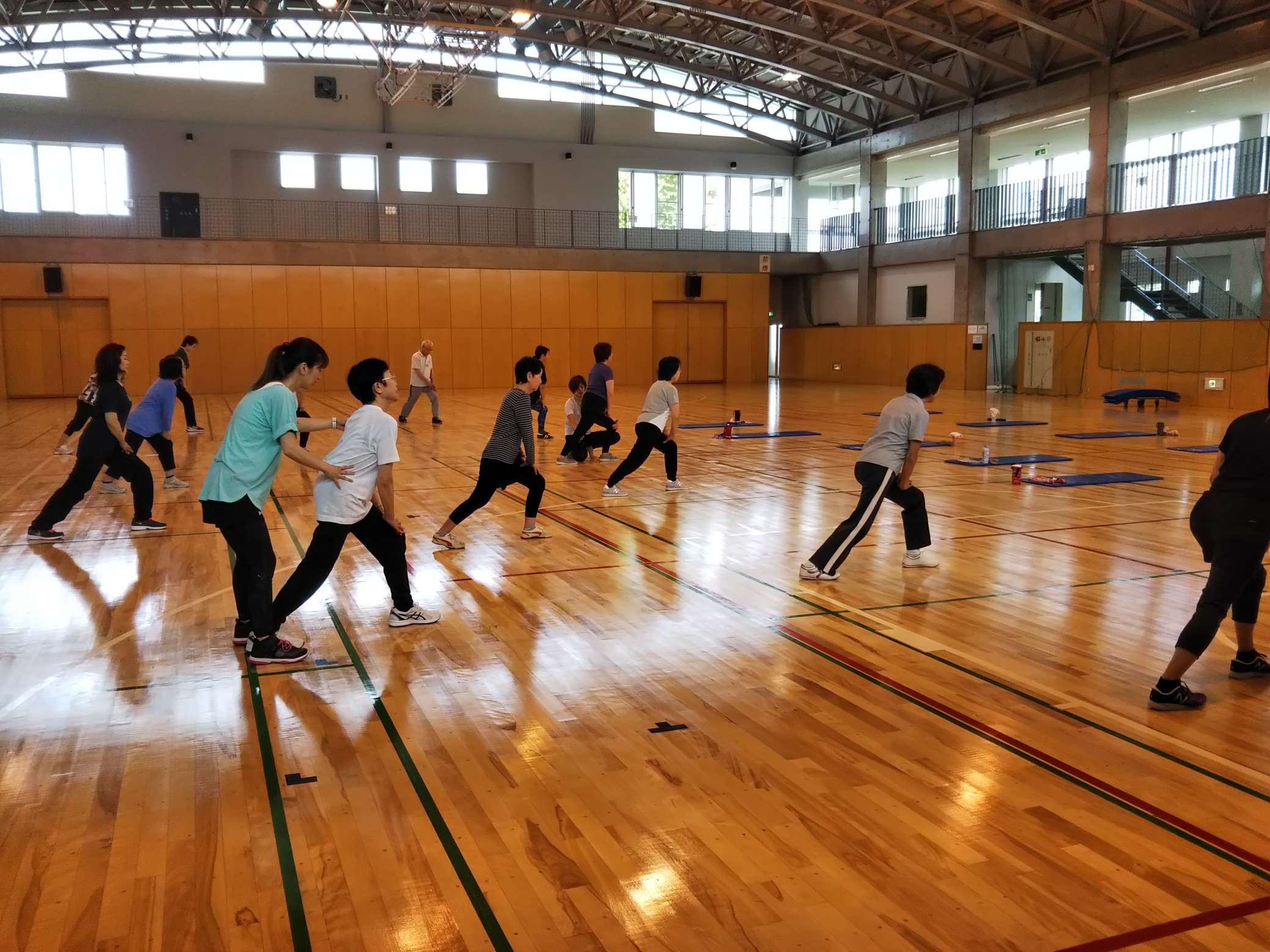 筋膜リリース運動教室