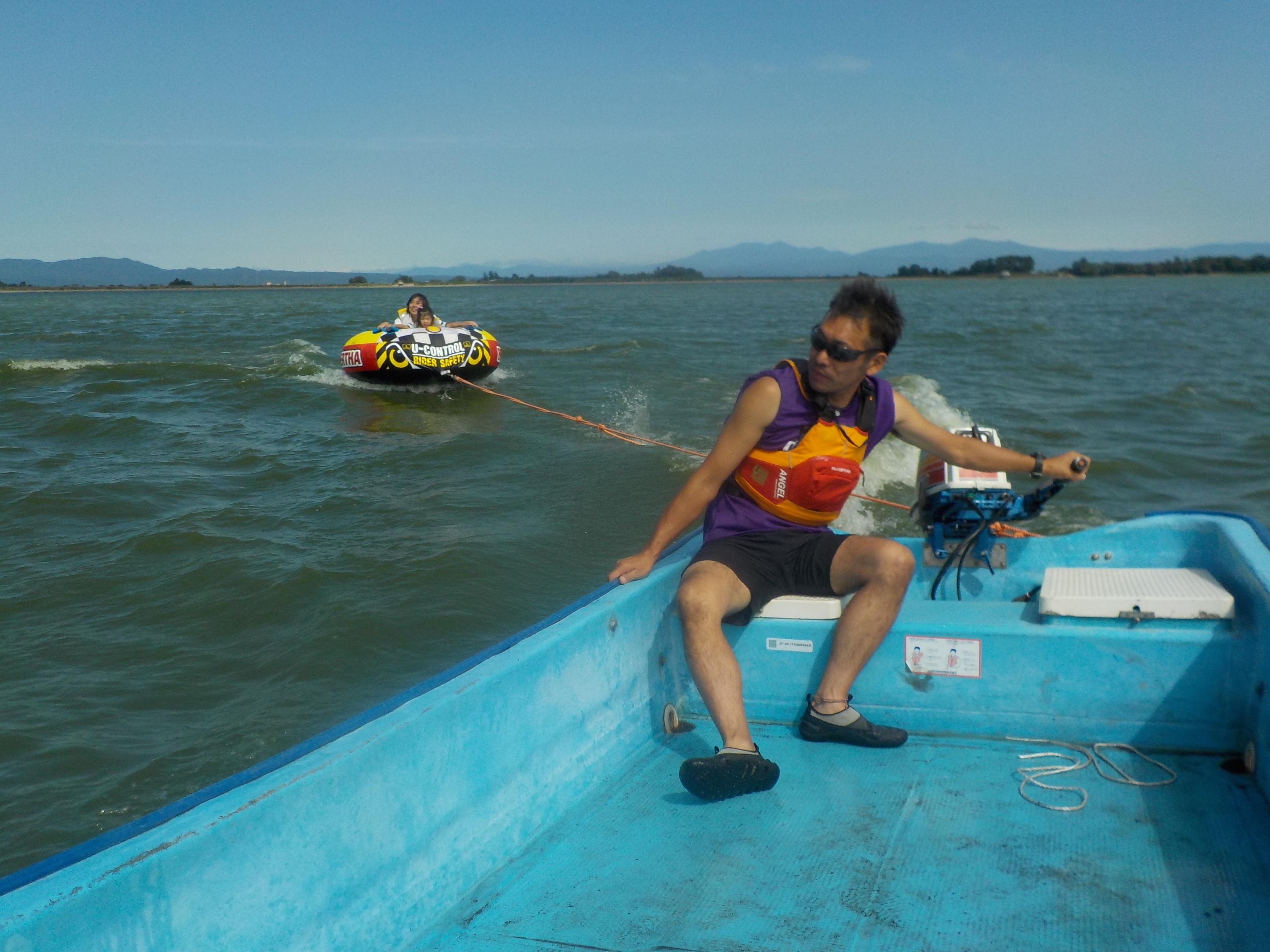 障がいのある小学生のB&G水に親しむ体験会