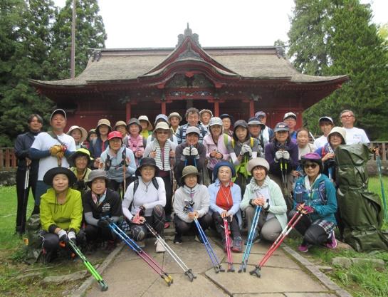 高照神社~岩木山神社ノルディックウォーキング~自然遊歩道・岩木山登山道を歩く~