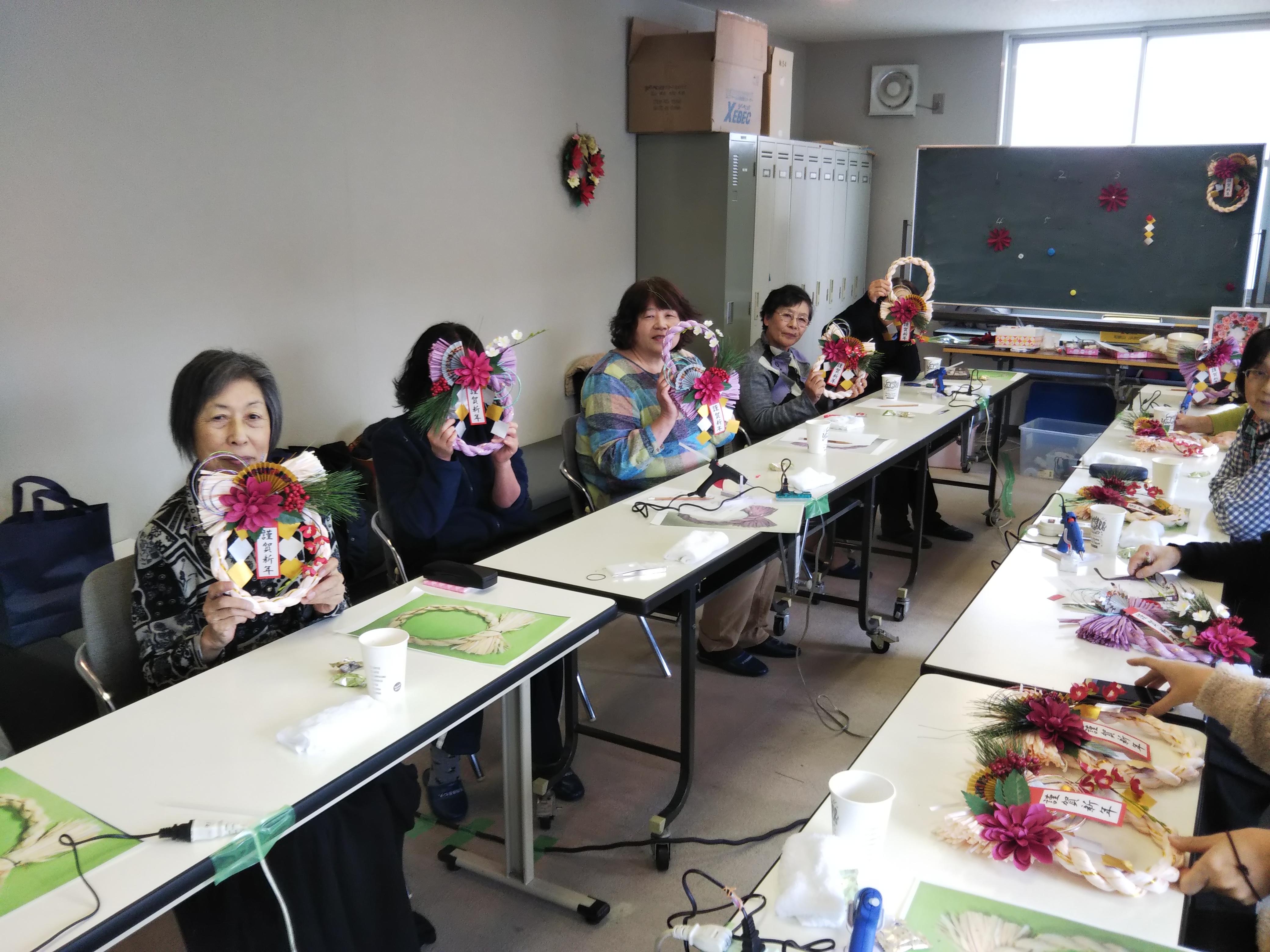 ペーパークラフトしめ縄作り教室
