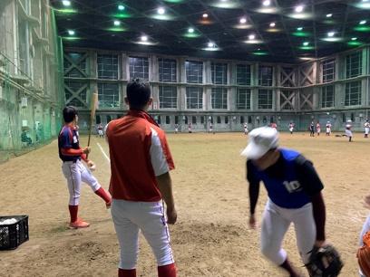 硬式野球体験