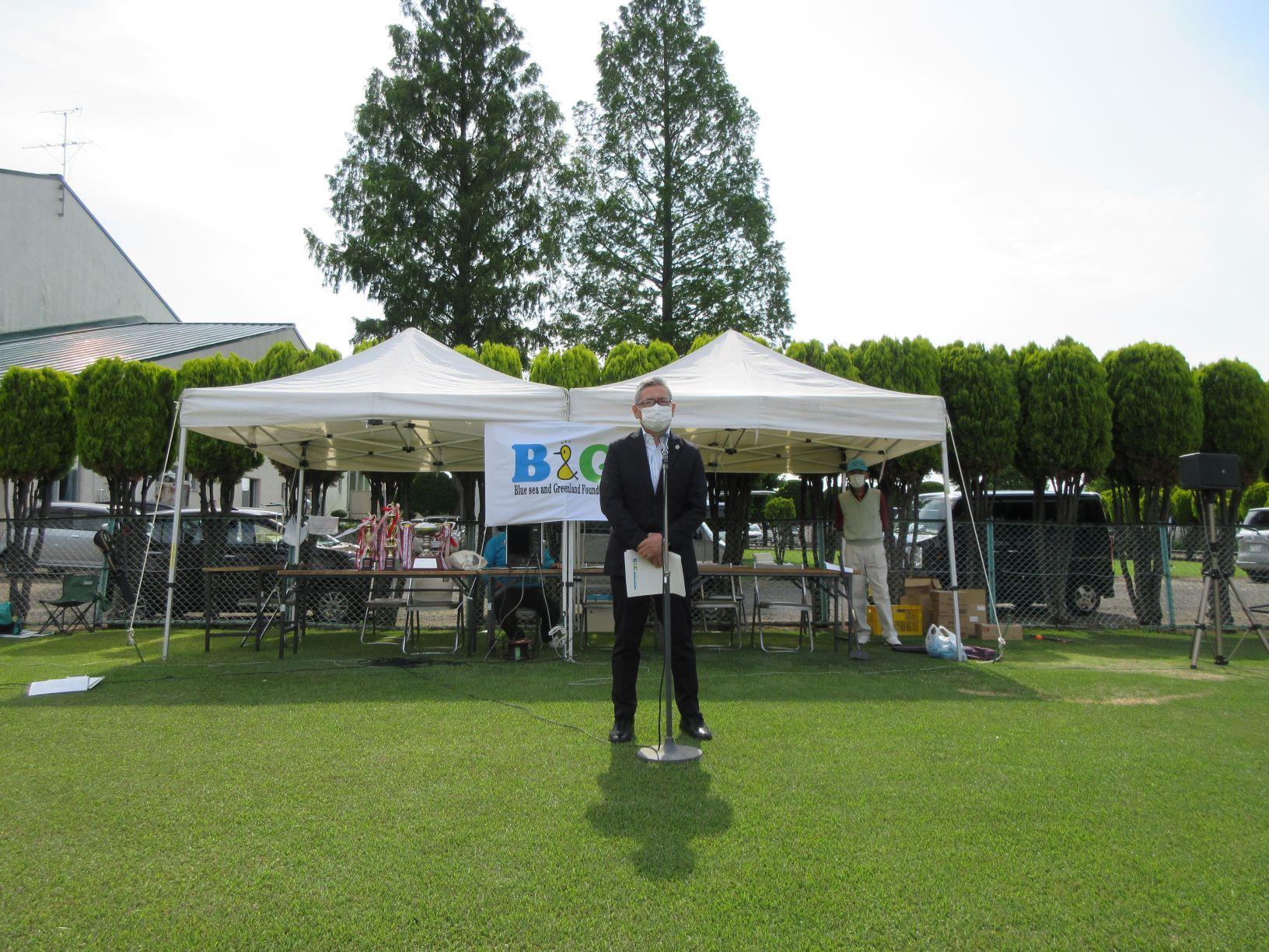 第14回B&G会長杯グラウンド・ゴルフ大会v
