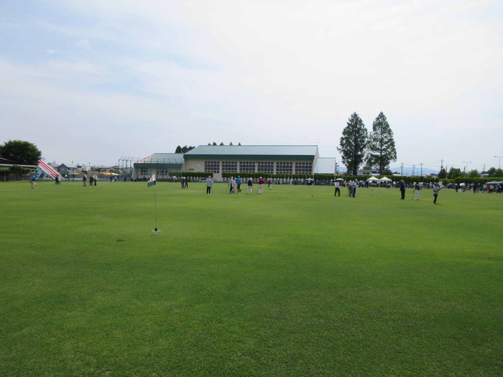 第14回B&G会長杯グラウンド・ゴルフ大会